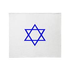 STAR OF DAVID Throw Blanket
