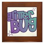 Glitterbug Framed Tile