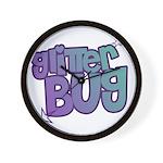 Glitterbug Wall Clock