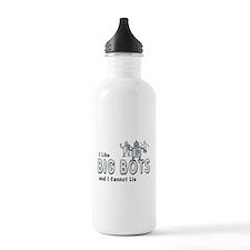 I Like Big Bots Water Bottle