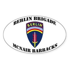 Berlin Brigade McNair Barracks Decal