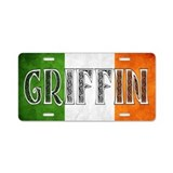 Griffin Shield Aluminum License Plate
