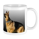 I heart My Dad GSD Mug