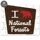 I LOVE NATIONAL FORESTS Puzzle