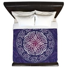 Celtic Shield King Duvet Cover