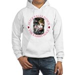 Alice Falls Down the Rabbit Hole Hooded Sweatshirt