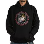 Alice Falls Down the Rabbit Hole Hoodie (dark)