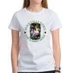 Alice Falls Down the Rabbit Hole Women's T-Shirt