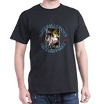 Alice Falls Down the Rabbit Hole Dark T-Shirt