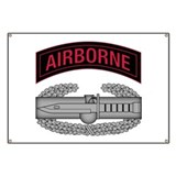 CAB w Airborne Tab - Red Banner