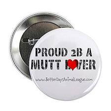 """MUTT LOVERS 2.25"""" Button"""
