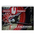 Shocker Choppers 2013 Standard Wall Calendar