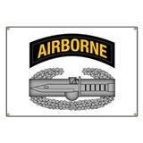 CAB w Airborne Tab - Gold Banner