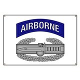 CAB w Airborne Tab - Blue Banner