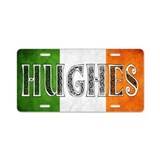 Hughes Shield Aluminum License Plate