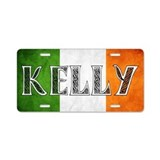 Kelly Shield Aluminum License Plate