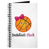 Pink Basketball Chick Journal