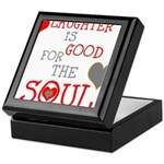 OYOOS Laughter Good for the Soul Keepsake Box