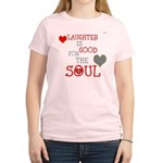 OYOOS Laughter Good for the Soul Women's Light T-S