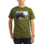 Show Horse Organic Men's T-Shirt (dark)