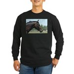 Show Horse Long Sleeve Dark T-Shirt