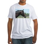 Show Horse Fitted T-Shirt