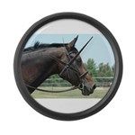 Show Horse Large Wall Clock