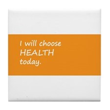CHOOSE HEALTH > coaster (padded/tile)