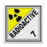 Radioactive DOT 7 Tile Coaster
