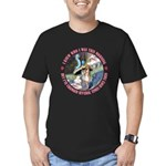I Knew Who I Was Men's Fitted T-Shirt (dark)