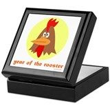 Year of the Rooster (kids) Keepsake Box