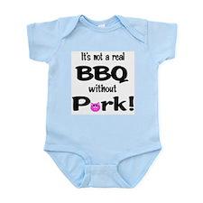 BBQ Requires Pork Infant Creeper