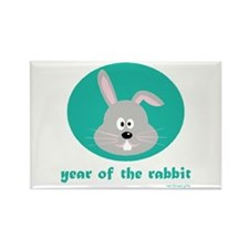 Year of the Rabbit (kids) Rectangle Magnet