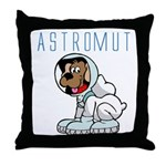Astromut Sr.'s Throw Pillow