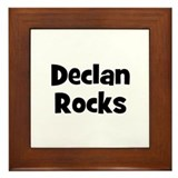 Declan Rocks Framed Tile