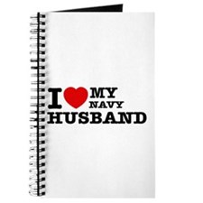 I love my Navy Husband Journal