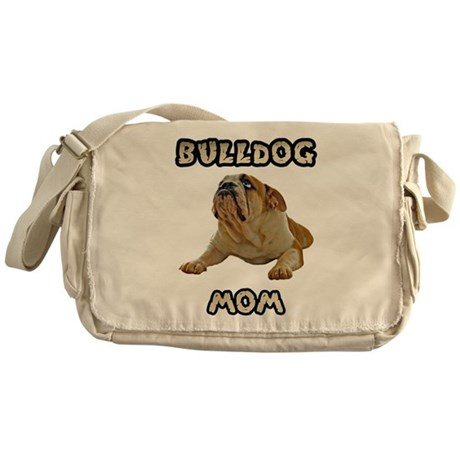 Bulldog Mom Messenger Bag