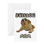 Bulldog Mother's Day Cards