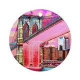 BROOKLYN BRIDGE Ornament (Round)