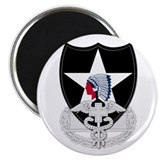 2nd Infantry CFMB Magnet