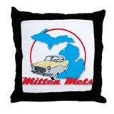 Mitten Mets Throw Pillow