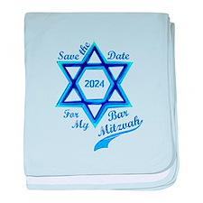 Bar Mitzvah Boy baby blanket