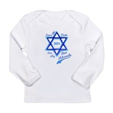 Bar Mitzvah Boy Long Sleeve Infant T-Shirt