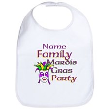 Customizable Mardi Gras Bib