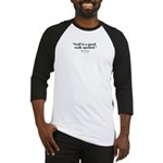 Mark Twain Quote Gear Baseball Jersey