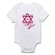 Bat Mitzvah Girl Infant Bodysuit