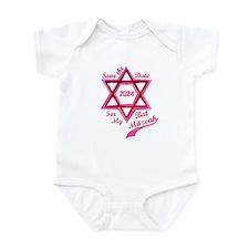 Bat Mitzvah Girl Infant Bodysuit