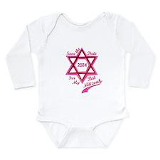 Bat Mitzvah Girl Long Sleeve Infant Bodysuit