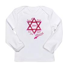 Bat Mitzvah Girl Long Sleeve Infant T-Shirt
