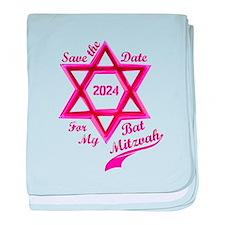 Bat Mitzvah Girl baby blanket